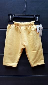 Pantalon yoga bio jaune bébé