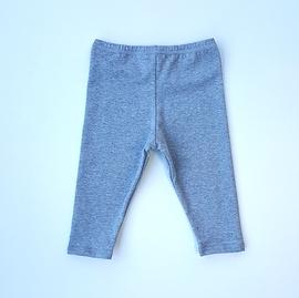 Legging coton gris