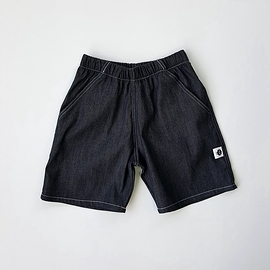 Bermuda jean's léger noir