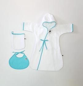 Pour le bain/ bébé petite fille