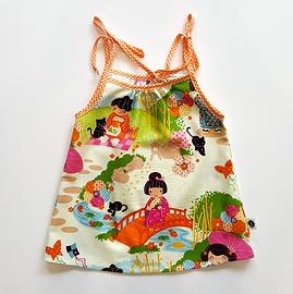 Robe soleil chinoise bébé