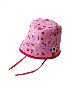 Chapeau Bob papillons roses