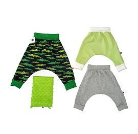 Vêtements évolutifs croco/bébé petit garçon