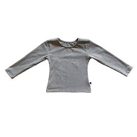 Chandail manches longues - gris