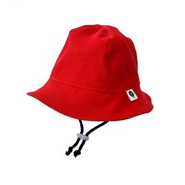 Chapeau de soleil jean's rouge
