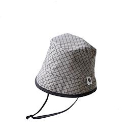 Chapeau Bob losanges gris