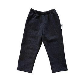 Pantalon coton ouaté charbon