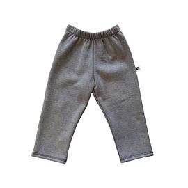 Pantalon coton ouaté gris