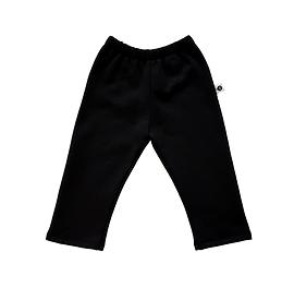 Pantalon coton ouaté noir