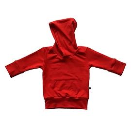 Hoodie évolutif rouge