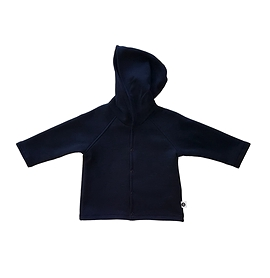 Veste coton ouatée bleu marine - unisexe