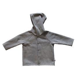 Veste coton ouatée grise - unisexe
