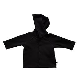 Veste coton ouatée noire - unisexe