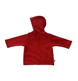 Veste coton ouatée rouge - unisexe