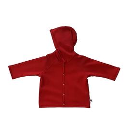 Veste coton ouatée rouge