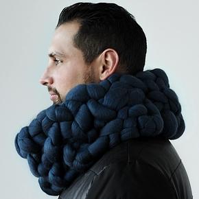 Chunky scarf: The English