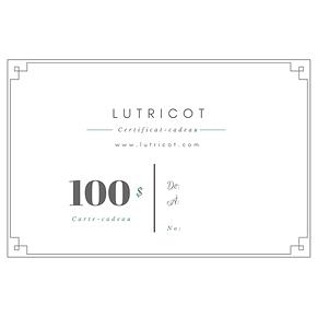 Certificat-cadeau 100$