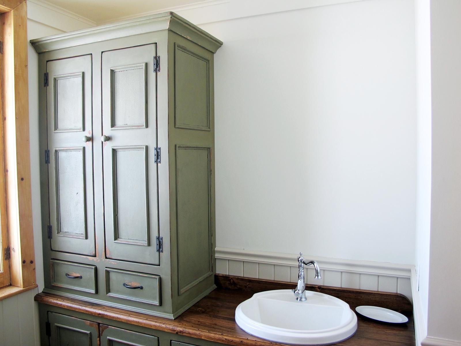 Chambre Parentale Avec Salle De Bain Et Dressing Plan ~ Vanit Armoire Anique Salle De Bain Sur Mesure Mont Tremblant
