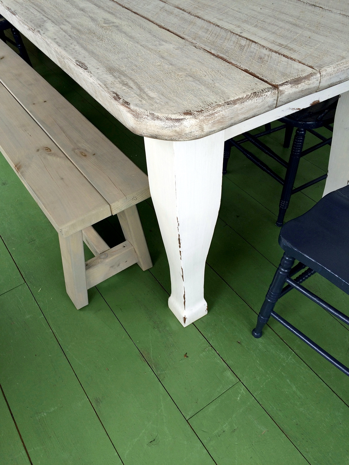 Table sur mesure salle a manger cuisine antique lanaudiere for Cuisine complete sur mesure