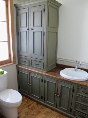 vanité armoire salle de bain sur mesure lanau re