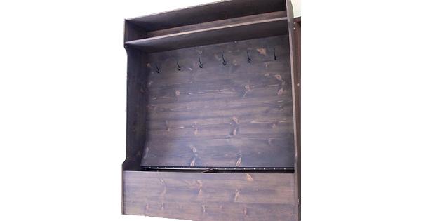 meuble vestiaire en pin sur mesure antique banc de qu teux lanaudiere. Black Bedroom Furniture Sets. Home Design Ideas