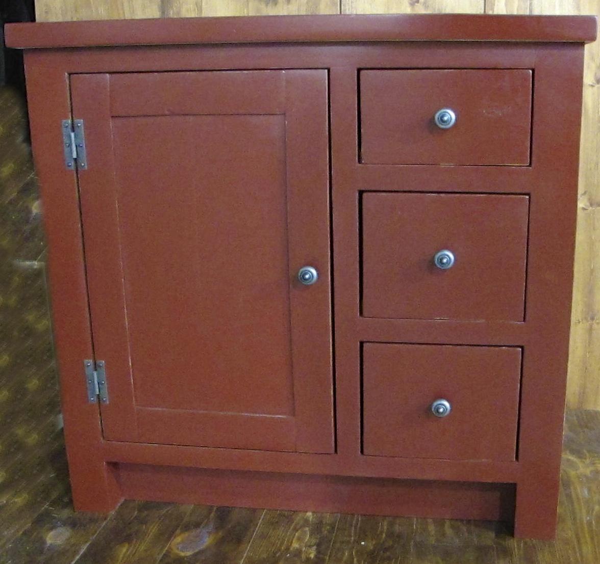Peindre un meuble en pin peindre un meuble en pin with for Peindre un meuble de salle de bain