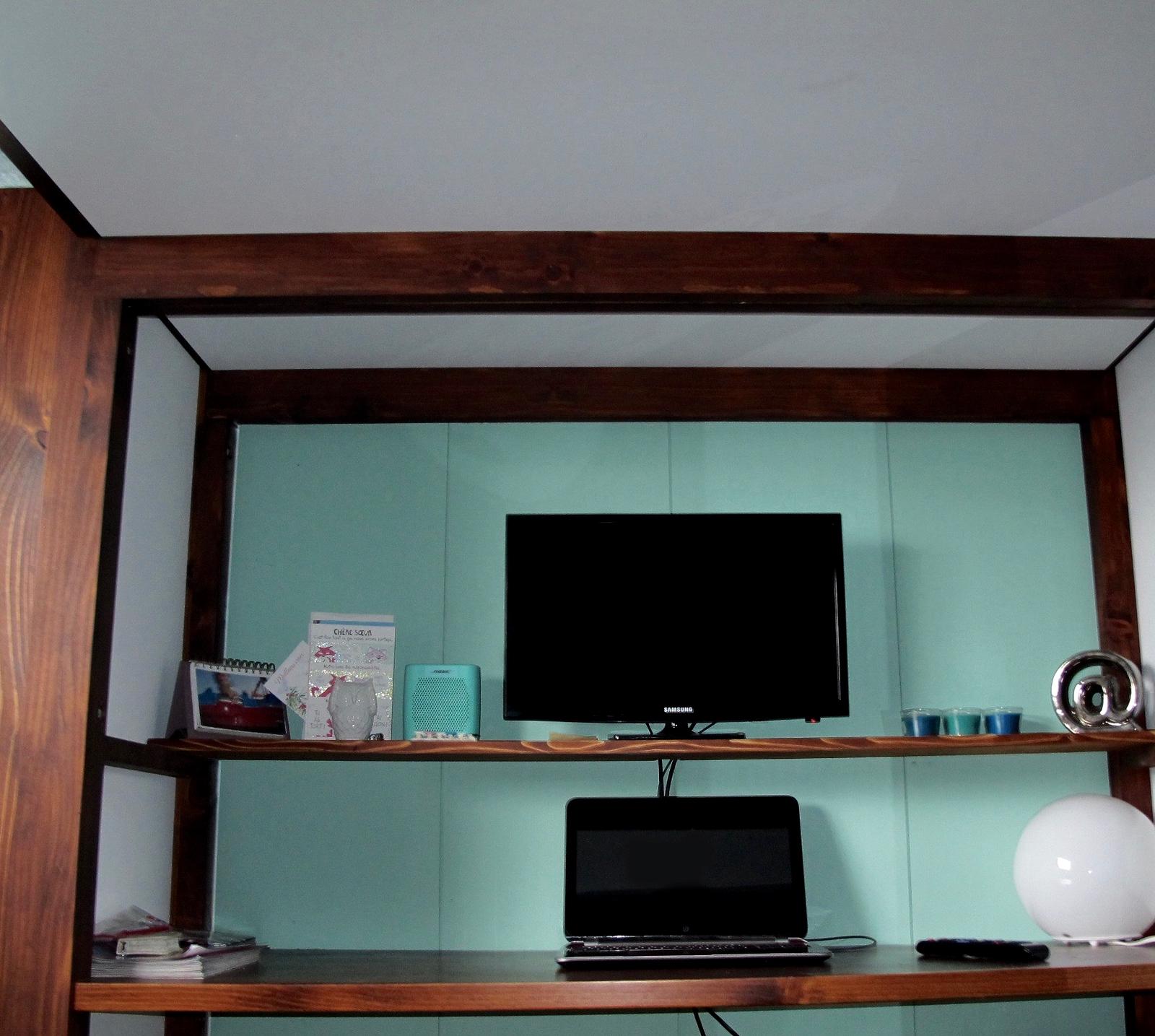 Lit Mezzanine pour chambre d\'enfant sur mesure-lit superposé- Lanaudie