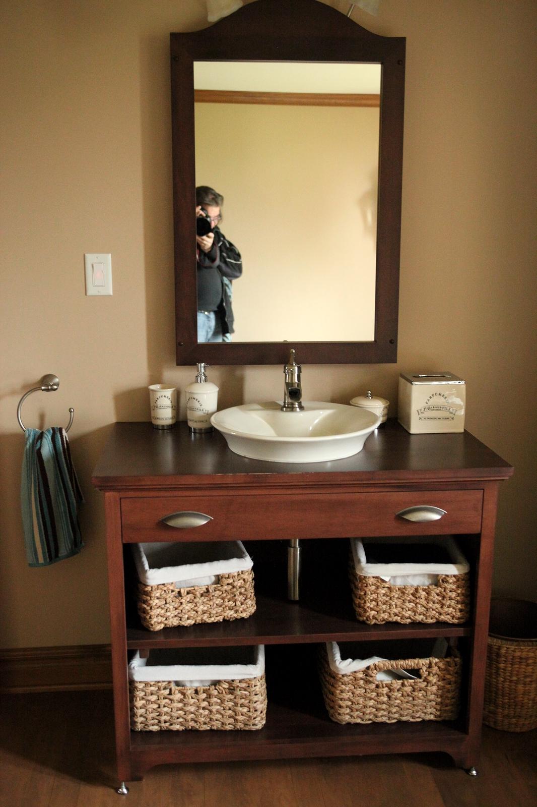 Meuble salle de bain sur mesure   meuble salle de bain bois