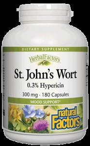 Natural Factors St. John's Wort 300 mg 90 caps