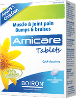 Boiron Arnicare Bumps & Bruises 60 tablets