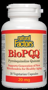 Natural Factors BioPQQ 20 mg 30 Vcaps