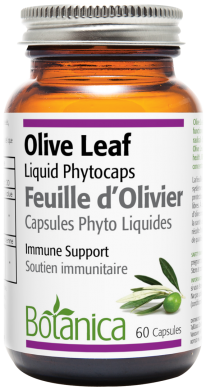 Botanica Olive Leaf 60 liquid phytocaps