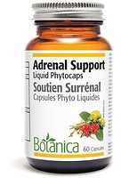 Botanica Adrenal Support 60 liquid phytocaps