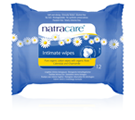 Natracare Organic Intimate Wipes 12-count