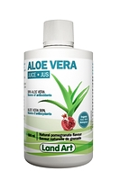 Land Art Aloe Vera Juice Natural Pomegranate Flavour 500 ml