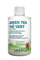 Land Art Green Tea Concentrated Liquid Extract Honey Lemon Lime Flavour 500ml