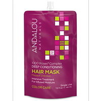 Andalou Naturals 1000 Roses Complex Colour Care Hair Mask 44 ml / 1.5 fl oz