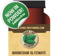 PureLab Vitamins Magnesium Glycinate Powder 200 g