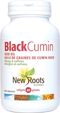 New Roots Black Cumin Seed Oil 60 gels