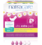 Natracare Ultra Extra Pads Normal 12-count