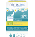 Natracare Ultra Pads Regular 14-count