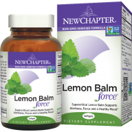 New Chapter Lemon Balm Force 30 caps