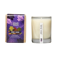 Purple Urchin Soy Candle Large 267g in Glass Jar - CHOICE OF SCENT