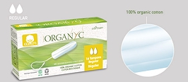 Organyc Tampons Regular 16-count