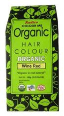 Radico Colour Me Organic Hair Colour Wine Red 100 g
