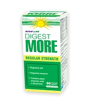 Renew Life Digest More Regular Strength 90 Vcaps