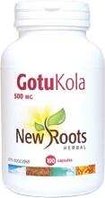 New Roots Gotu Kola 500 mg 100 caps