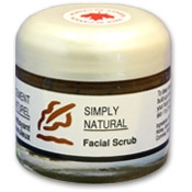 Simply Natural Facial Scrub 70ml