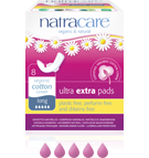 Natracare Ultra Extra Pads Long 8-count
