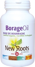 New Roots Borage Oil 1000 mg 60 gels